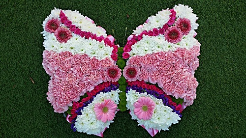 Floral Funeral Tribute