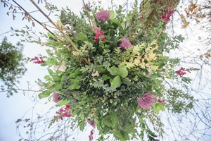Floral wedding arrangements in Hertfordshire