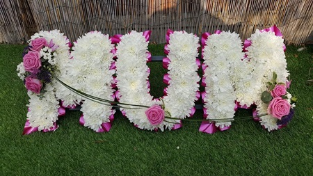 Personalised Wreath