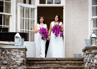 Orchid Wedding Bouquets in Hertfordshire
