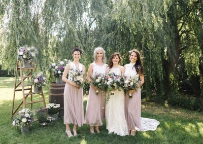 flowers for bridesmaids