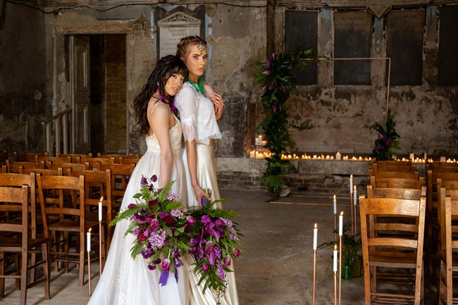 Wedding consultant for wedding flowers in Hertfordshire