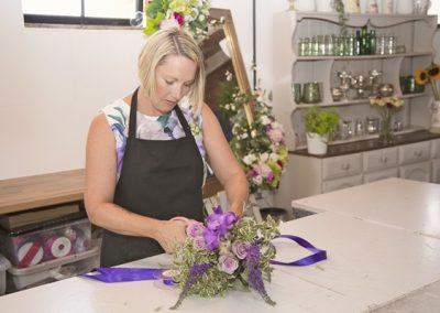 Floristry workshop in Sawbridgewoth