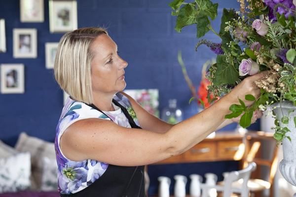 Floral arrangements created with passion